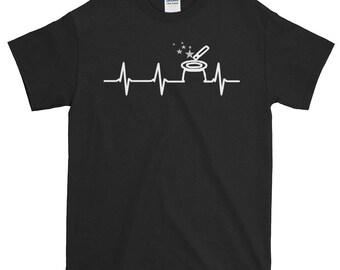 Entertaining Design Passionate Heartbeat Magician Print Magic Trick Magic Hat Trick Magic Trick Print Magician Shirt