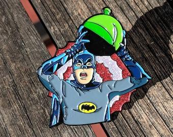 Batman Pin Stocking Stuffers Justice League Soft Enamel Pin Punk Enamel Pin Joker Harley Quinn Catwoman Christmas Gift Backpack Enamel Pin