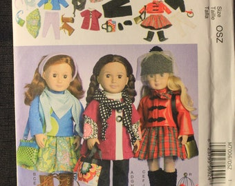 McCalls 7006   18 in Doll Clothes