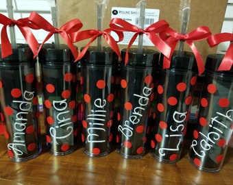 Customize your Tumblers for your wedding party