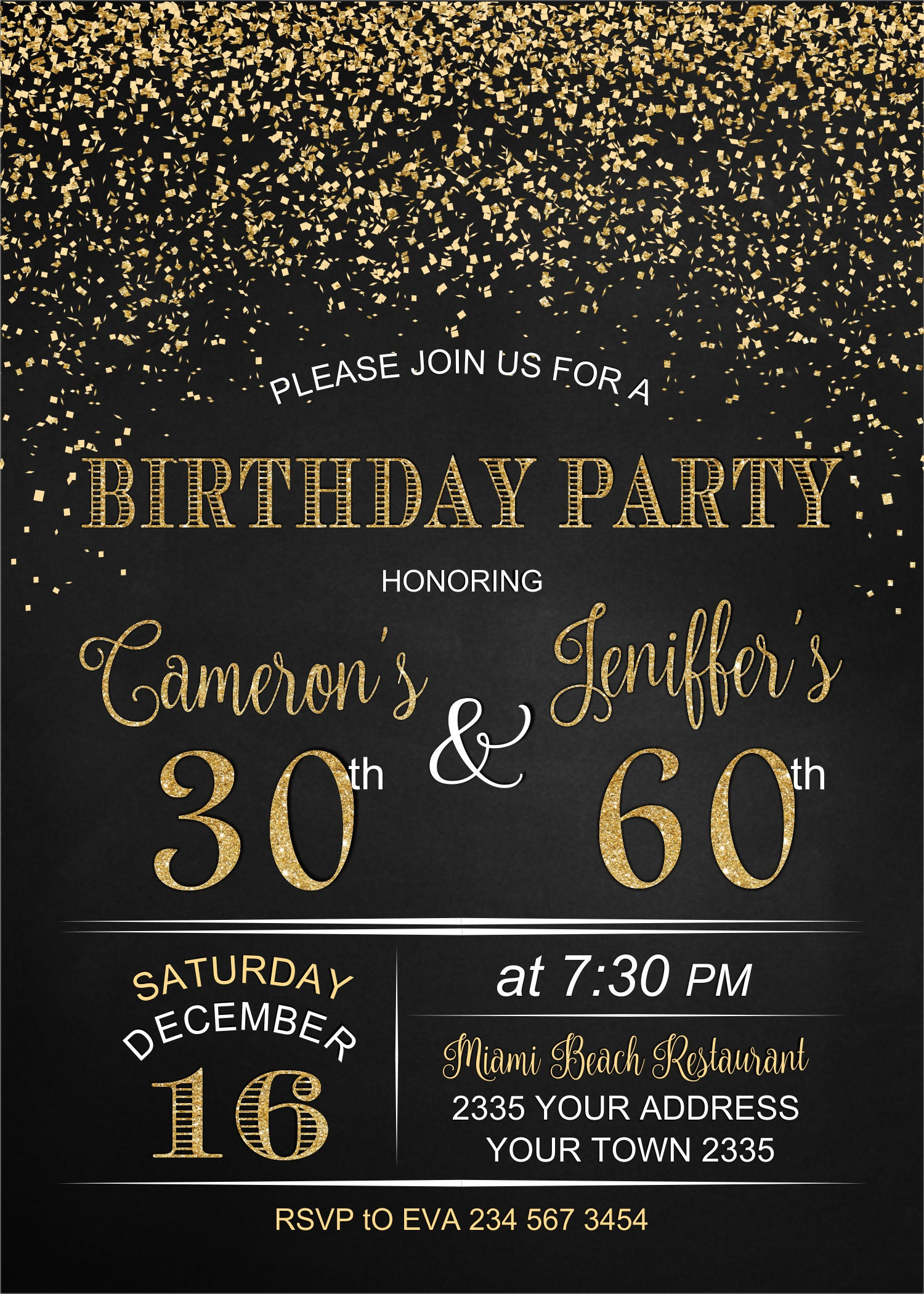 Adult joint birthday invitation joint birthday party invitation adult joint birthday invitation joint birthday party invitation combined party co birthday filmwisefo