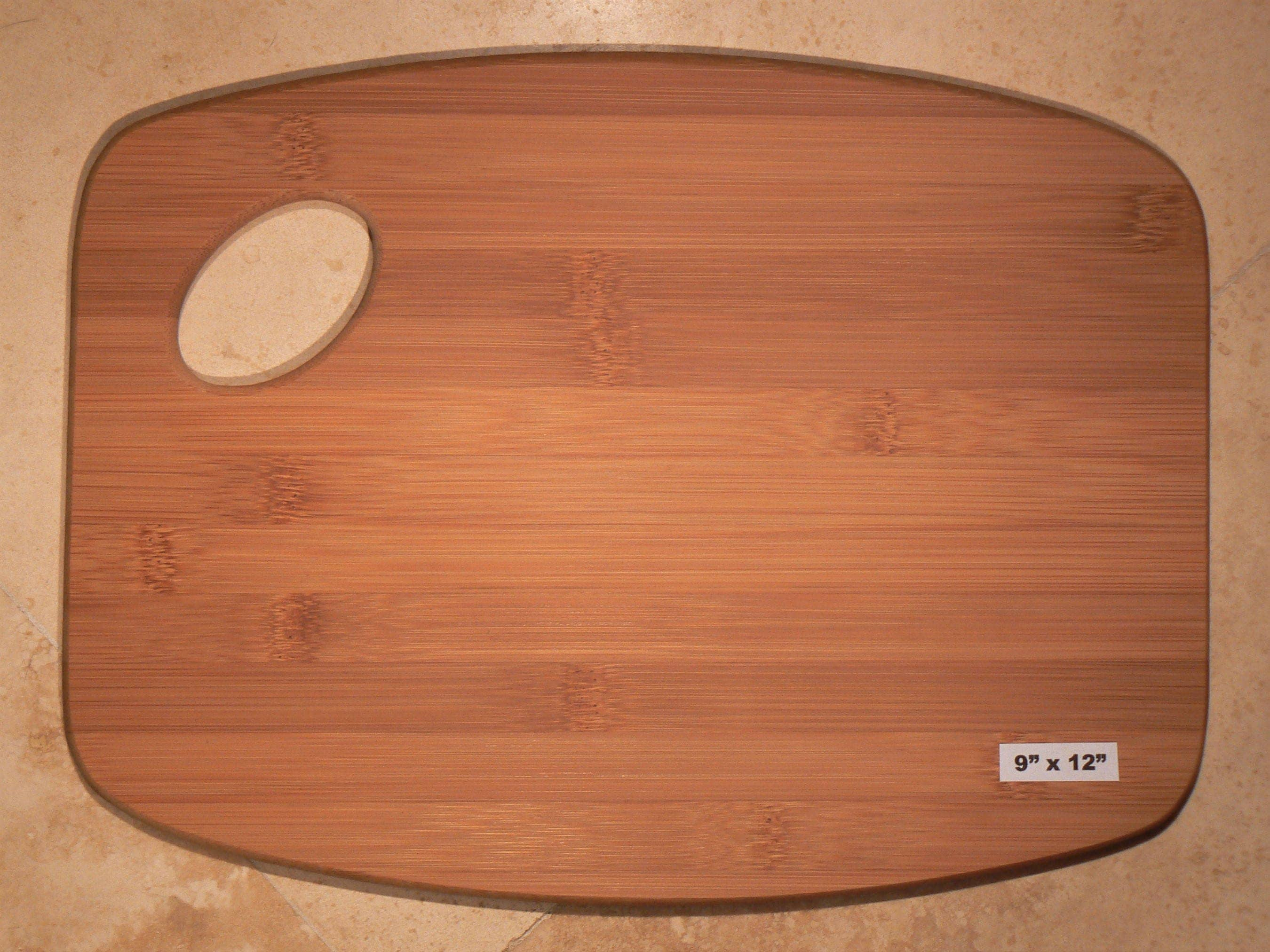 Create your own custom 9 x 12 cutting board for Make your own chopping board