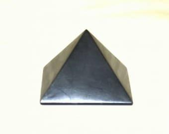Shungite Shungit Pyramid 50mm Electromagnetic Protection