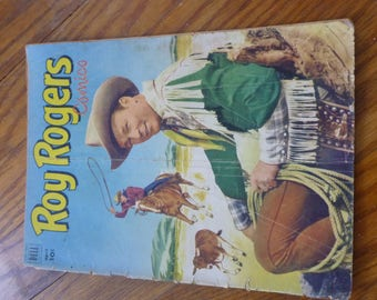 1952 comic book Roy Rogers #52