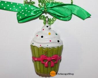 Collana in Resina 'Cupcake' (2 COLORI DIVERSI)