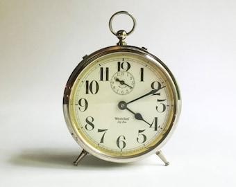 Vintage Westclox Big Ben Peg Leg Alarm Clock