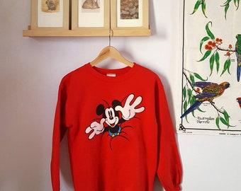 Vintage NWT Deadstock Mickey Mouse Sweatshirt