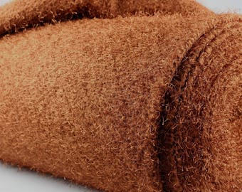 Knitted hairy brique fabric, clothing fabric by yard/half yard,europe