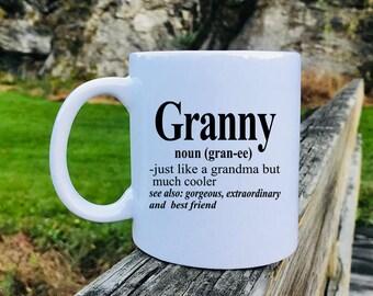 Granny - Mug - Granny Gift - Gift For Granny - Granny Mug