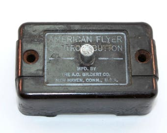 American Flyer Control Button - A.C. Gilbert - American Flyer Toy Train