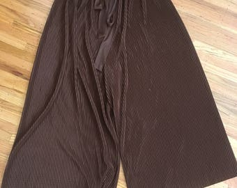 1980's wide leg pleated pants
