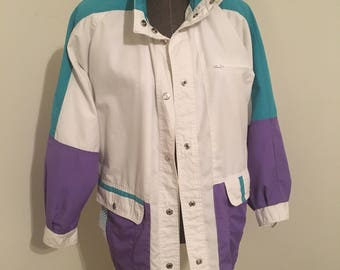 CS - Be in the Current Scene; ladies windbreaker jacket in size small.