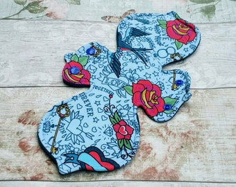 "11"" Heavy Cloth Menstrual Pad 