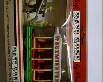 o gauge horse drawn tram New in box