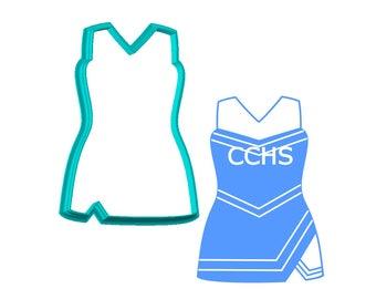 Cheerleader Uniform - Little Black Dress - Cookie Cutter