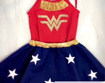 Wonder woman, wonder woman party, wonder woman costume, girl empowerment, wonder woman birthday, wonder woman outfit, wonder woman girl