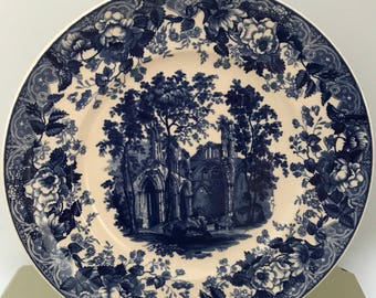 Wedgwood Queens Ware collectors plate, 'Gothic Ruins'