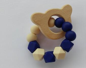 Bear Baby Teething Ring | Teething Toy