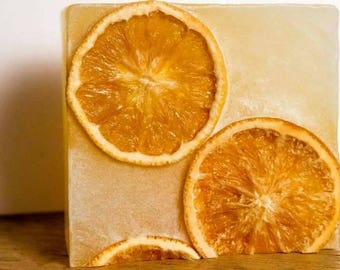 Vegan Organic Orange and Lime handmade cruelty free soap