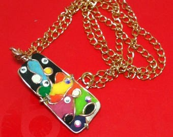 My Abstract's world Necklace