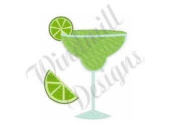 Lime Margarita - Machine Embroidery Design