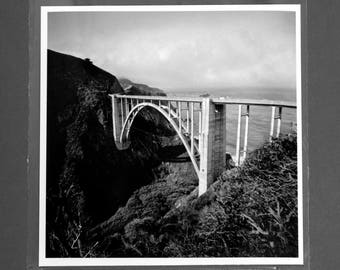 "Fine Art Photography ""Bixby Bridge"" Archival Print"