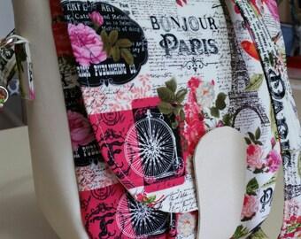 Paris Saddle Bag