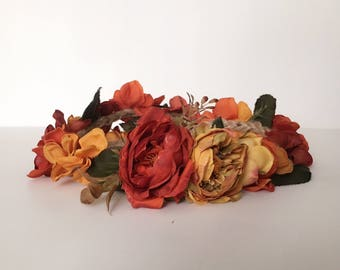 Fall Inspired Flower Crown - CLEARANCE