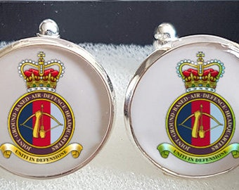 Made to Order 16th Air Defence Cufflinks - A Great Gift