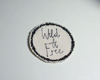 Wild & Free - Boho Patch