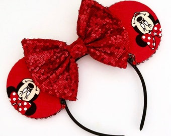 The Girlfriend - Handmade Mouse Ears Headband