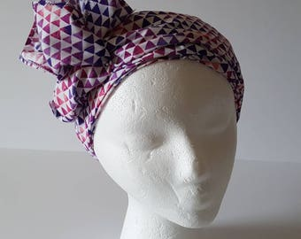Purple Multi Headwrap