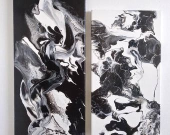 Original Fluid Art Paintings