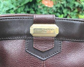 Pierre Balmain purse carry shoulder strap. french vintage balmain retro fashion