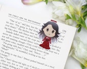 Mare Barrow - Magnetic bookmark - Red Queen || glass sword, king's cage, war storm, book lover gifts, victoria aveyard, ya fantasy, bookish