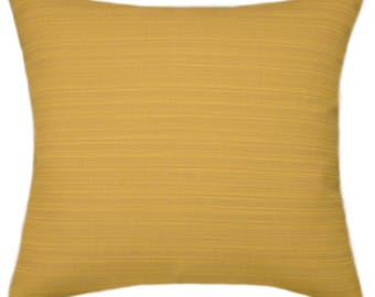 Sunbrella Dupione Cornsilk Indoor/Outdoor Pillow