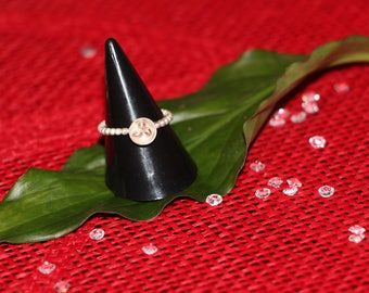 "Ring ""Metallic poppy"""
