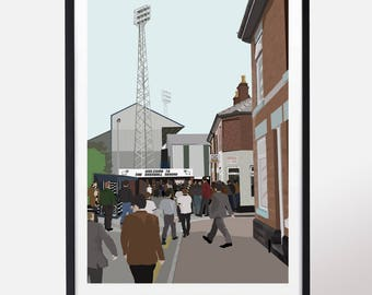The Baseball Ground - Derby County