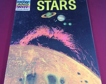 The How And Why Wonder Book Of Stars ~ Wonder Books ~ Vintage Astrology Book