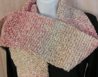 Hand Knitted Parfait Scarves