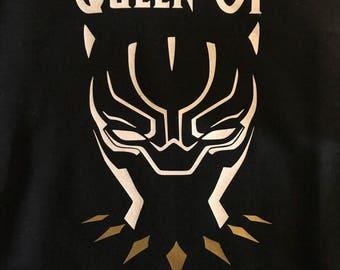 Queen of Wakanda Black Panther Hoodie