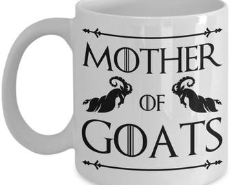 Goat Mug - Mother Of Goats - Ideal Goat Lover Gifts