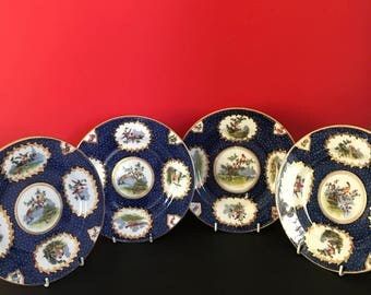 Tiffany Plates by George Jones & Sons