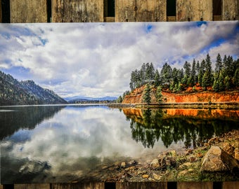 Coeur D' Alene Lake Canvas