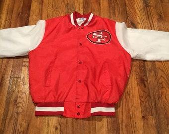 Vintage Chalk Line San Francisco 49ers Jacket