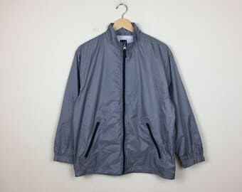 Vintage GAP Track Jacket Size Small, Grey Track Jacket, GAP Jacket