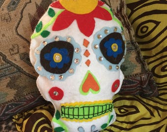 Sugar Skull Decorative Pillow
