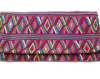 Hand-Woven Guatemalan Clutch