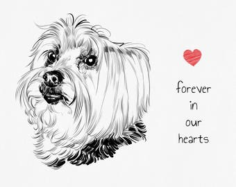 Pet Memorial, Dog Memorial, Cat Memorial, Personalized Pet Memorial Gift, Pet Loss Gift, Dog Loss Gift, Pet Remembrance, Dog Remembrance