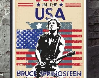 Bruce springsteen | Etsy